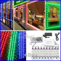 10-100FT 20200PCS SMD 5050 3 LED Module Store Front Window Light Sign Lamp Kits
