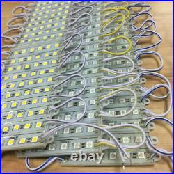 10-250FT 5050SMD 6 LED Module Light Waterproof For Sign Bar Advertising Lamp Lot