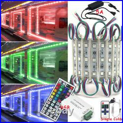 100FT Bright 5050 SMD 3 LED Module Strip Lights For STORE FRONT Window Sign Lamp