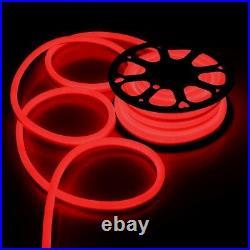 100ft DC12V Neon LED Rope Light Waterproof Flex Commercial Sign Home Store Decor