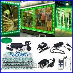 10160ft 5050 SMD 3 LED Bulb Module Lights Club Store Front Window Sign Lamp Kit