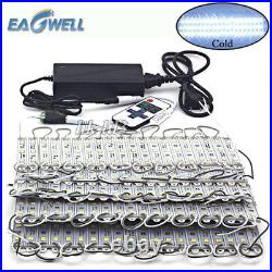10200ft 5050 SMD 3 LED Bulb Module Lights Club Store Front Window Sign Lamp Kit