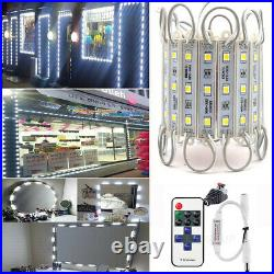 10ft 500ft 5050 SMD 3 LED Module Light Club Store Front Window Sign Lamp White