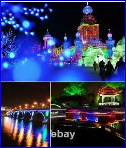 10m DC12V RGB LED Neon Rope Light Flex Tube Store AD Boat Bar Sign Decor Outdoor