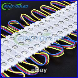110-550FT 5050SMD RGB Injection LED Module window store front light sign border