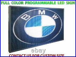 12 x 63 Full Color led Sign Store Shop Bar Graphics Animation Display