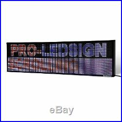 14 x 27 / 39 / 51 Full-color LED Scrolling Sign for Store Windows and Semi-ou