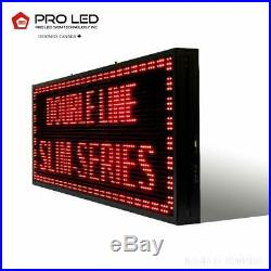 14 x 27 / 39 / 51 RED LED Scrolling Sign for Store Windows and Semi-outdoor