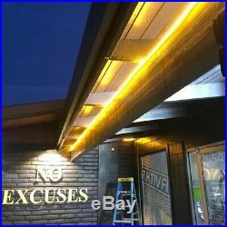 150ft LED Neon Rope Light Flex Tube Wedding Garden Store Sign Decor Outdoor 110V