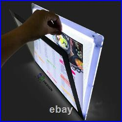 18X24 Inch Acrylic LED Poster Frame Store Signs posters prints Retail Store Ads