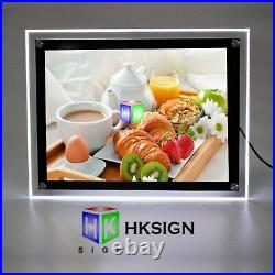18X24 Inch Wall Mounted Led Poster Frame Advertising Retail Store Signs