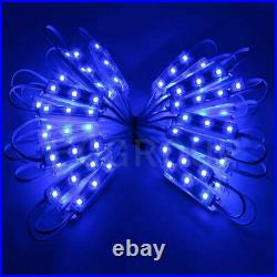 1t500ft 5050SMD 3 LED Injection Module Lights Store Front Window Sign Lamp Blue