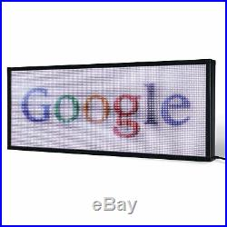 21 x 28 / 40 / 52 Full-color LED Scrolling Sign for Store Windows and Semi-ou