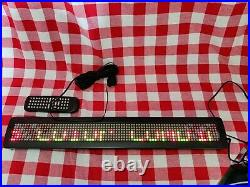26x 4 Programmable LED (7x80px) Store Business Restaurant Sign