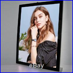 27X40 Inch Black Aluminum LED Movie Art Poster Frames Light Boxes Store Signs