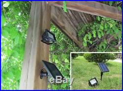 4 X Bizlander Ultra Bright Solar 30LED Spot Light Waterproof for Store Cafe Sign