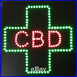 5 Pcs CBD For Business LED Neon Sign, smoke shop, window store sign, Display