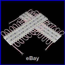 500pcs white SAMSUNG led module 110Lumen window store front light sign cuttable