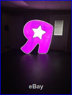 6 Foot Tall Toys R Us Sign Store Front Led Light Up LETTER R BABIES R US