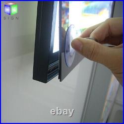 A2 Aluminum Photo Frame Led Store Signs Board for Led Poster Frame Light Box Ads