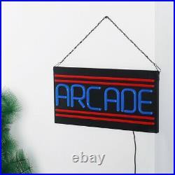 ARCADE LED Neon Sign Light Hanging Bar Party Store Visual Artwork Lamp Decor SU