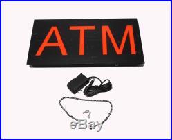 ATM Sign Store ATM Light Box ATM LED Window Sign ATM Ligh Sign ATM Signage