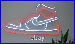 Air Jordan 1 LED Neon Wall Sign Light Pub Bar Store decor Party Display 20x11