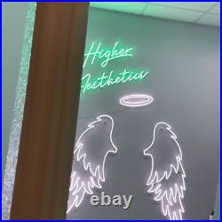 Angel Wings Neon LED Sign Wall Hanging Decor Wedding Gift Business Home Store
