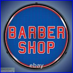 BARBER SHOP Sign 14 LED Light Store Business Advertise USA Lifetime Warranty