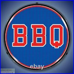 BBQ Sign 14 LED Light Restaurant Store Business Advertise USA Lifetime Warranty