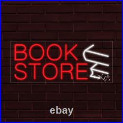 BRAND NEW BOOK STORE 32x13X1 INCH withLOGO LED FLEX INDOOR SIGN 30024