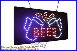 Beer Sign Neon Sign LED Open Sign Store Sign Business Sign Window Sign
