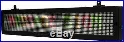 Bluetooth LED Scrolling Message Sign Bright 3 Colors for Stores Restaurant Gyms