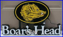 Boar's Head Premium Deli Meats LED Lighted Store Advertising Sign NEW in Box