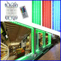 Bright 10ft500ft 5050 3LED Injection Module Lights Store Front Window Sign Lamp