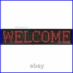Bright LED 40X8 Sign Neon Light Business & Store Ad Board WIFI Programmable