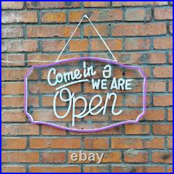 Bright LED Open Store Shop Club Bar Business Sign 20 x 12 Neon Display Lights