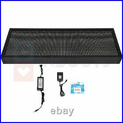 Bright LED Sign Business & Stores 40x8 Wifi programmable Scrolling Neon Light