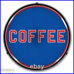 COFFEE Sign 14 LED Light Store Business Advertise Made USA Lifetime Warranty