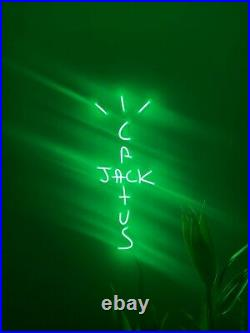 Cactus Jack LED Neon Wall Sign Light For Pub Bar Store decor Party Display 30x12