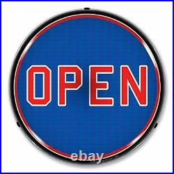 Collectable Sign and Clock LED Open Sign for Business, Store or Home, Ultra Bright