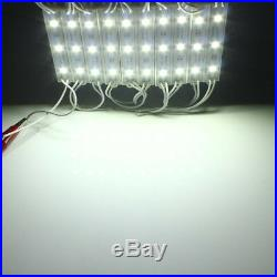 Cool White 10100FT 5050 SMD 3 LED Module STORE FRONT Window Light Sign Lamp Kit