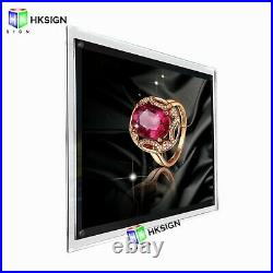 Crystal Poster Frame Store Displays LED Light Box Wall Lights Home Décor Signs