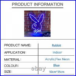 Custom Neon Sign Rabbit Neon Night Light for Store Bedroom Wall Room Home Decor