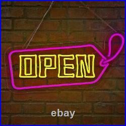 Customized LED Rope Lights OPEN Sign Logo for Store Bar Hotel Xmas Decor