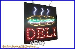 Deli Sign Neon Sign LED Open Sign Store Sign Business Sign Window Sign