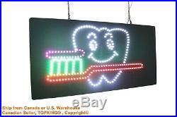 Dental Clinic Dentist Dentistry Neon Sign LED Open Sign Store Sign Business Sign
