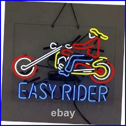Easy Rider Motorcycle Neon Sign Wall Decor Light Led Sign Bar Motor Store Decor