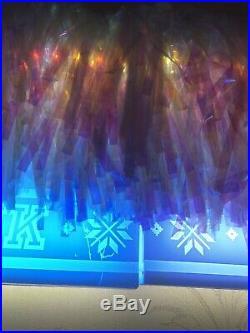 HUGE 2017 Victorias Secret PINK XMAS LED Light UP Christmas Store Display SIGN