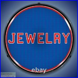 JEWELRY Sign 14 LED Light Store Business Advertise Made USA Lifetime Warranty